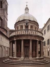 chi ha progettato la cupola di san pietro tempietto di san pietro in montorio di roma monumento arte it