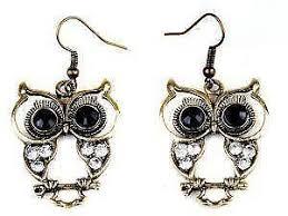 owl earrings owl earrings ebay