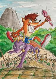 crash and spyro all grown up by souleatersaku90 on deviantart