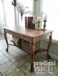 Larkin Coffee Table Antique Larkin Library Table With Baskets Prodigal Pieces