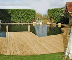 Garden Decking Ideas Uk Hardwood Garden Decking From The Orlestone Oak Mill In Ashford Kent