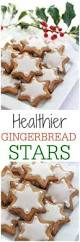 healthier gingerbread star cookies recipe star cookies fussy