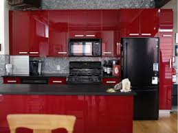 red cabinets in kitchen modern kitchen designs designs with red cabinets that pop the