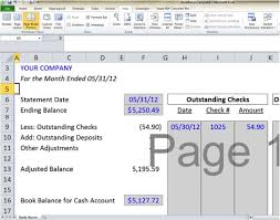 bank reconciliation template 5 easy steps to balance your accounts