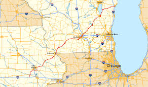 Wisconsin Railroad Map by U S Route 151 Wikipedia