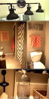 dorm bathroom decorating ideas cool grey wood grain tiles wall accent dorm bathroom decorating