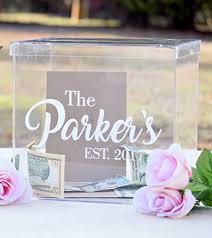 for wedding clear card box wedding card box personalized card