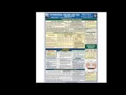 International Building Code 2012 International Building Code Laminated Quick Card Youtube