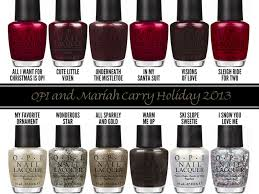 2013 holiday nail polish collections china glaze essie and opi