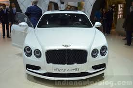 2006 bentley flying spur interior bentley flying spur v8 s front at the 2016 geneva motor show live