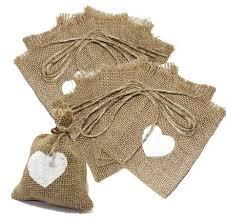 burlap favor bags aliexpress buy heart burlap gift bags 10x15cm 4 x6 pack