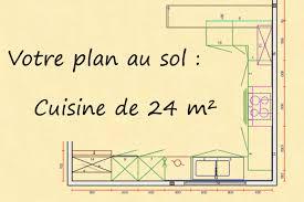 plan de cuisine en l implantation type cuisine pour la famille par venidom