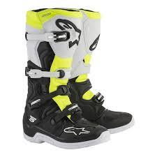 motocross boots alpinestars 2018 alpinestars tech 5 mx motocross boots white fluo yellow