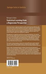 statistical learning from a regression perspective springer