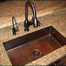 Best Copper Sinks Images On Pinterest Copper Sinks Bathroom - Copper sink kitchen