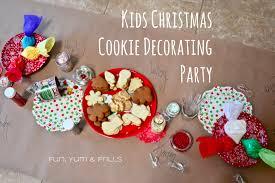 kids christmas cookie decorating party u2013 fun yum u0026 frills