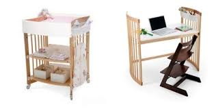 Stokke Care Change Table Stokke Care Changing Table Converts To Desk Apartment Therapy