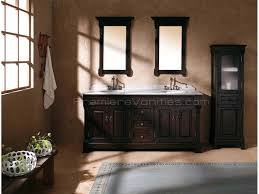 ideas 13 bathroom with double vanity design on corner double