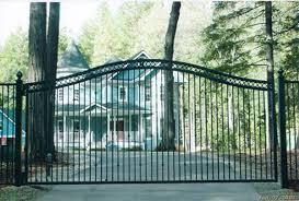 iron gates folsom ca driveway gates folsom courtyard gates