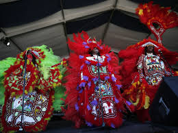 mardi gras indian costumes the mardi gras indian of lemonade code switch npr