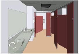 Bradley Bathroom Accessories by Bradley Revit Toilet Partition Door Angle Parameter Sets 3d