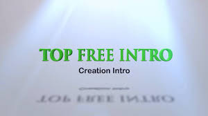 creation free intro template after efercts topfreeintro com