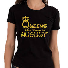 disney jeep shirt queens are born in august tshirt lady tee shirt best birthday