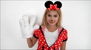 cute u0026 easy minnie mouse makeup tutorial halloween youtube