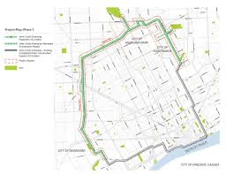 Map Of Detroit Michigan Inner Circle Greenway Detroit Greenways Coalition