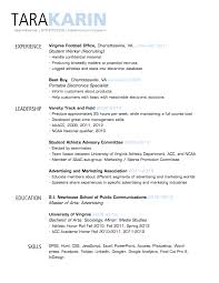 Strategy Resume Simple Clean Resume Design With Clear Section Headings Resumes