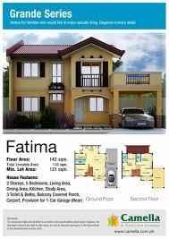 elaisa model house floor plan