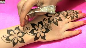 Romantic Designs by Floral Blast Mehndi Designs For Romantic Date Unique Easy Classy