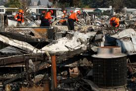 10 related deaths confirmed as blazes continue