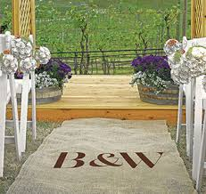 aisle runners wedding aisle runners personalized aisle runners