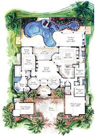home plans florida luxury home plans florida luxury home with 7 bdrms 7883 sq ft