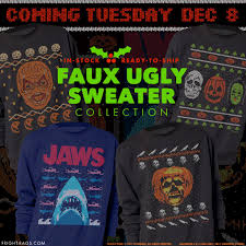 fright rags krampus wear is here coming tues u2013 ugly horror