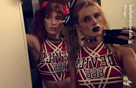 Zombie Cheerleader Bella Thorne Flaunts Zombie Cheerleader As She