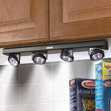 Lights Under Kitchen Cabinets by Battery Powered Under Kitchen Cabinet Lighting Kitchen Decoration