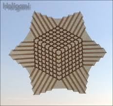 Origami Tessalation - the origami forum view topic help with konrad s cube tessellation