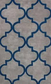 Gold Rugs Contemporary Contemporary Blue Gold Orange Agatha Trellis Area Rug Carpet Hand