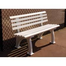 Park Bench Made From Recycled Plastic Plastic Outdoor Benches You U0027ll Love Wayfair