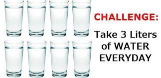 Challenge Of Water My 3 Liters Of Water Per Day Challenge Investor