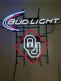 bud light neon signs for sale bud light ou neon sign real neon light for sale hanto neon sign