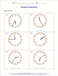 clock worksheets online telling time worksheets for 2nd grade
