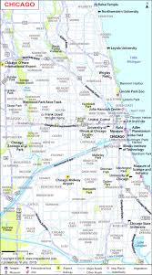 Chicago Attractions Map Google Map Chicago Mt Kilimanjaro Map