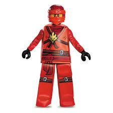 Lego Ninjago Costumes Halloween Lego Ninjago Kai Prestige Halloween Costume Child Size Toys