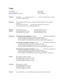 Resume Word Document Free Resume Templates Template Microsoft Word With 85 Charming