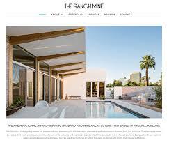 Award Winning Interior Design Websites by 100 Architect Website Designs For Inspiration