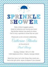 what is a sprinkle shower chevron chalkboard baby blue invitation sprinkle shower