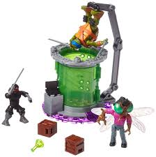 amazon mega bloks teenage mutant ninja turtles baxter